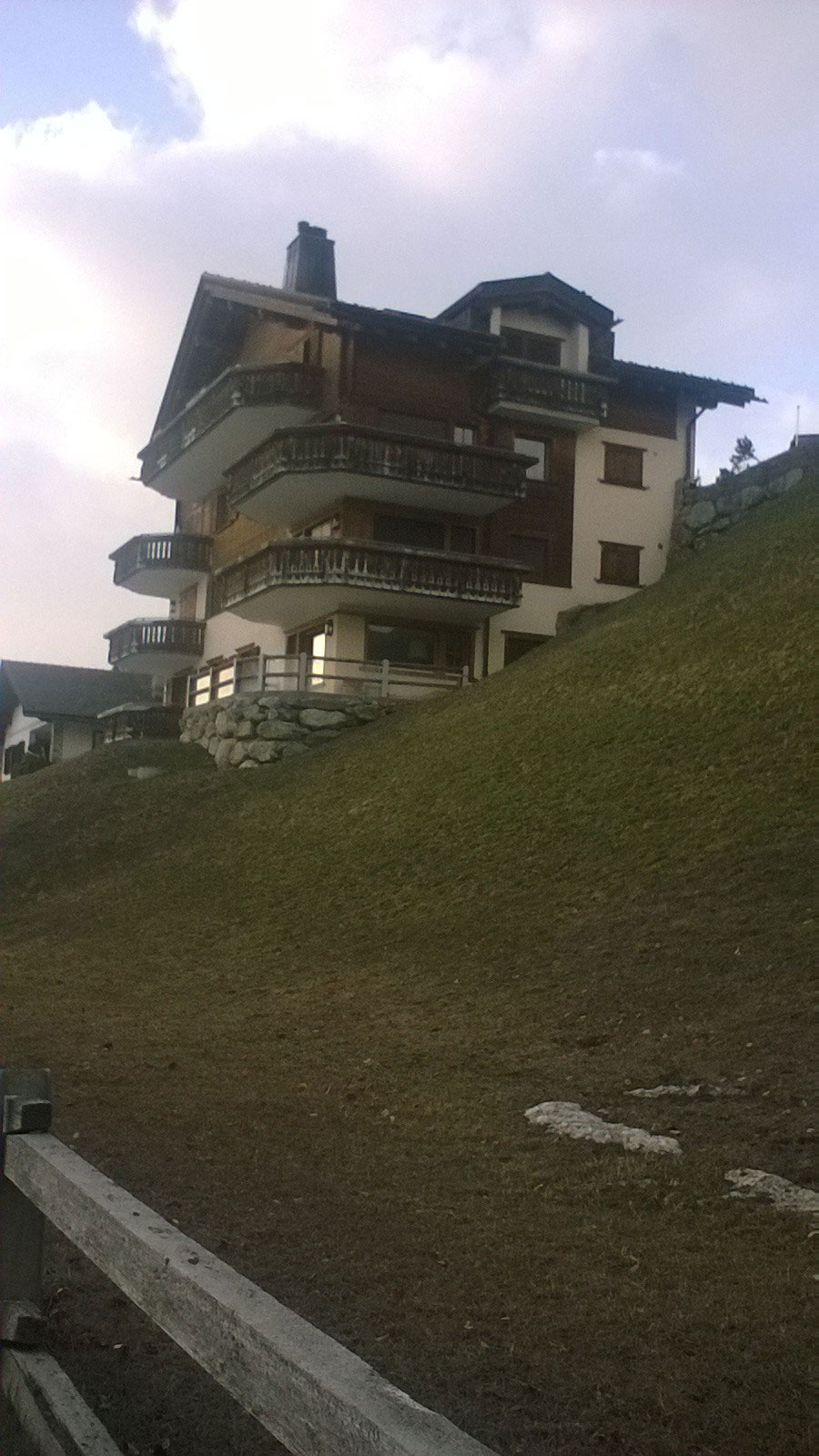 Surrounded by wonderful chalets