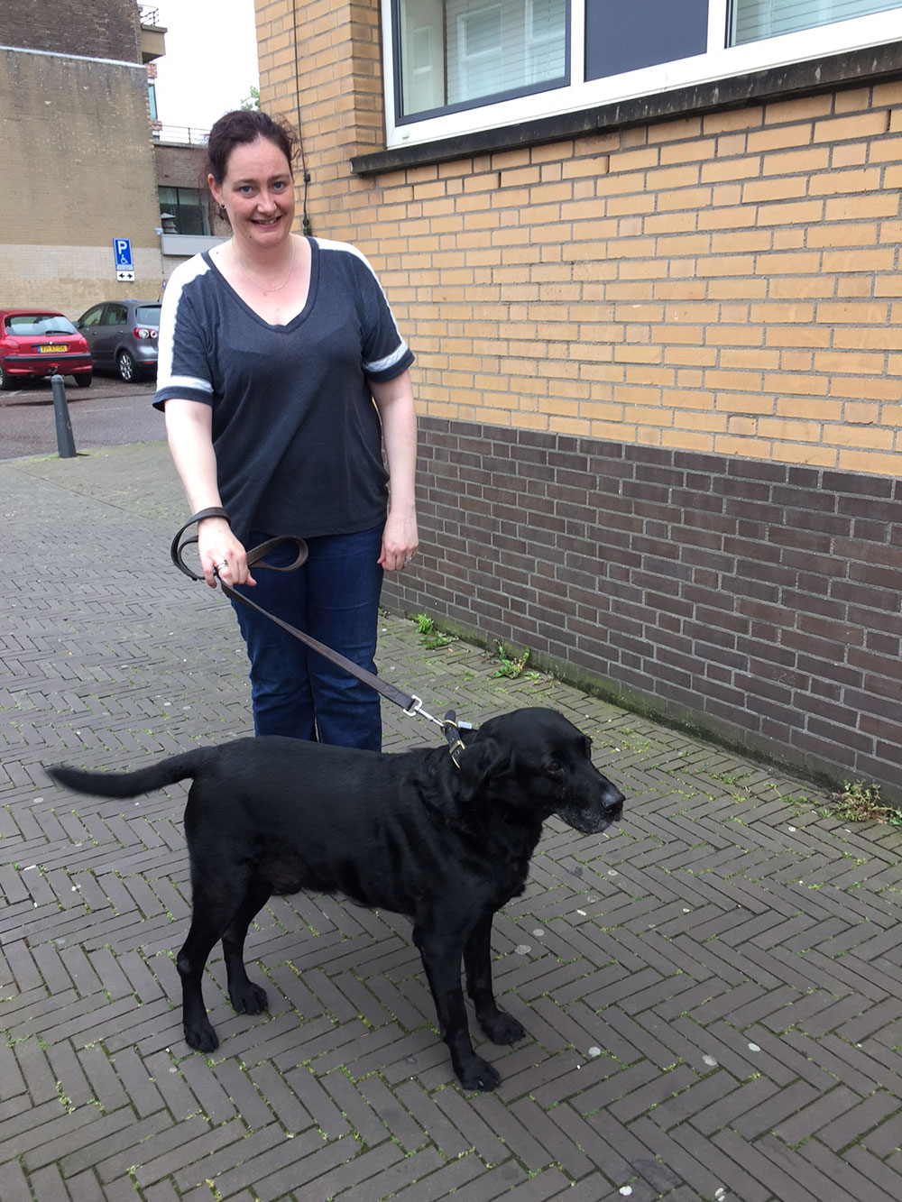Gorgeous Jack reunited with Charlotte in Den Haag