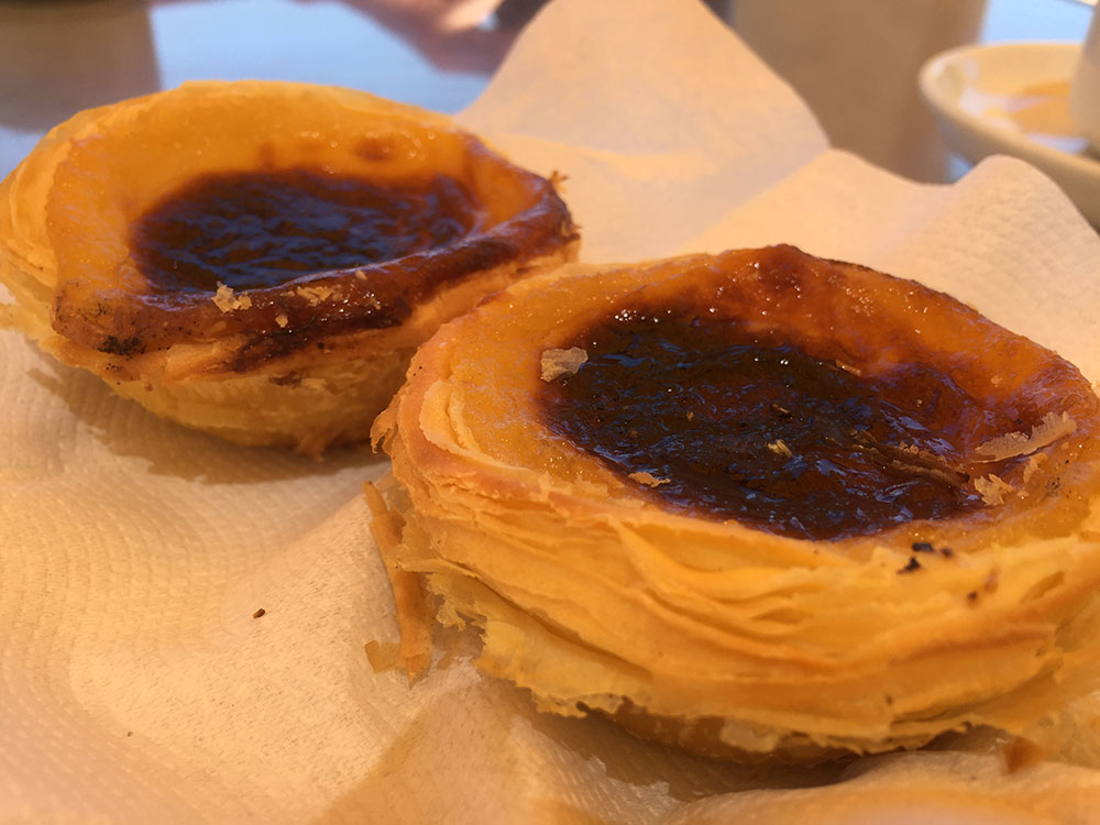 Portuguese custard tarts — an Animalcouriers tradition!