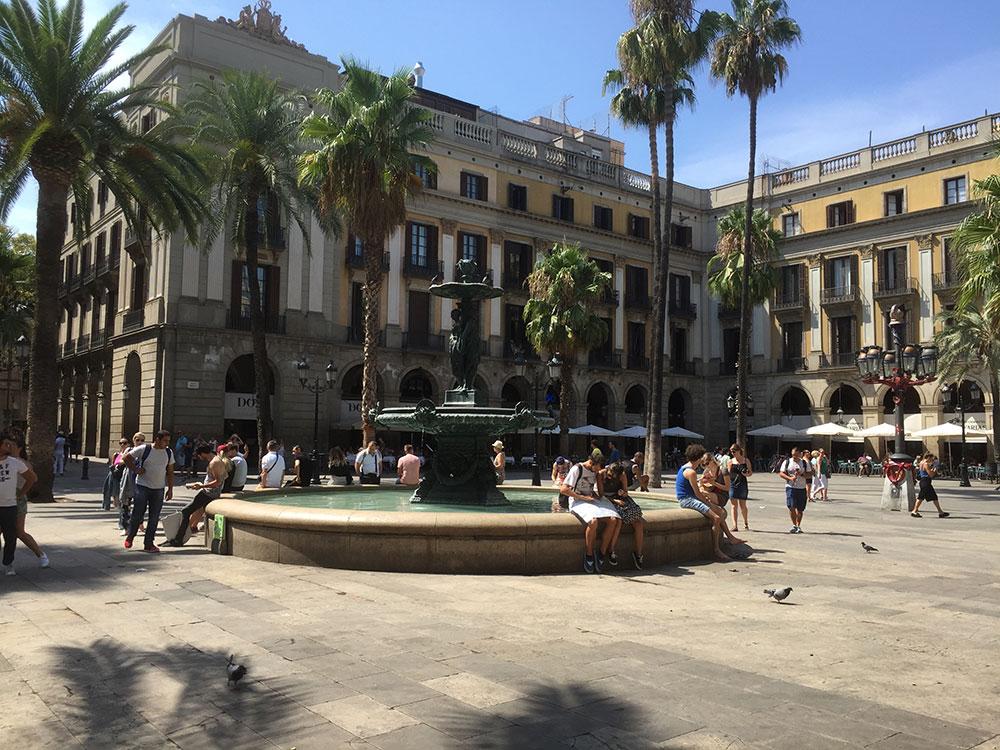 A small corner of beautiful Barcelona