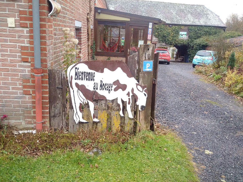 A quiet rural spot where courier Richard and his charges enjoyed a peaceful night's stay