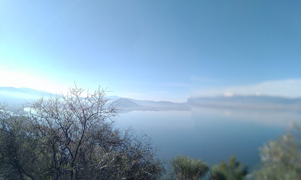 Surreal views across Ionnina
