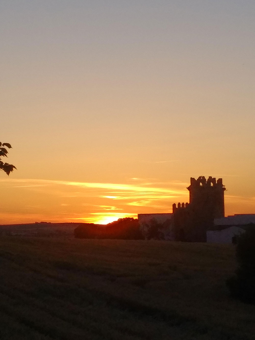 Stunning sunset near Jerez