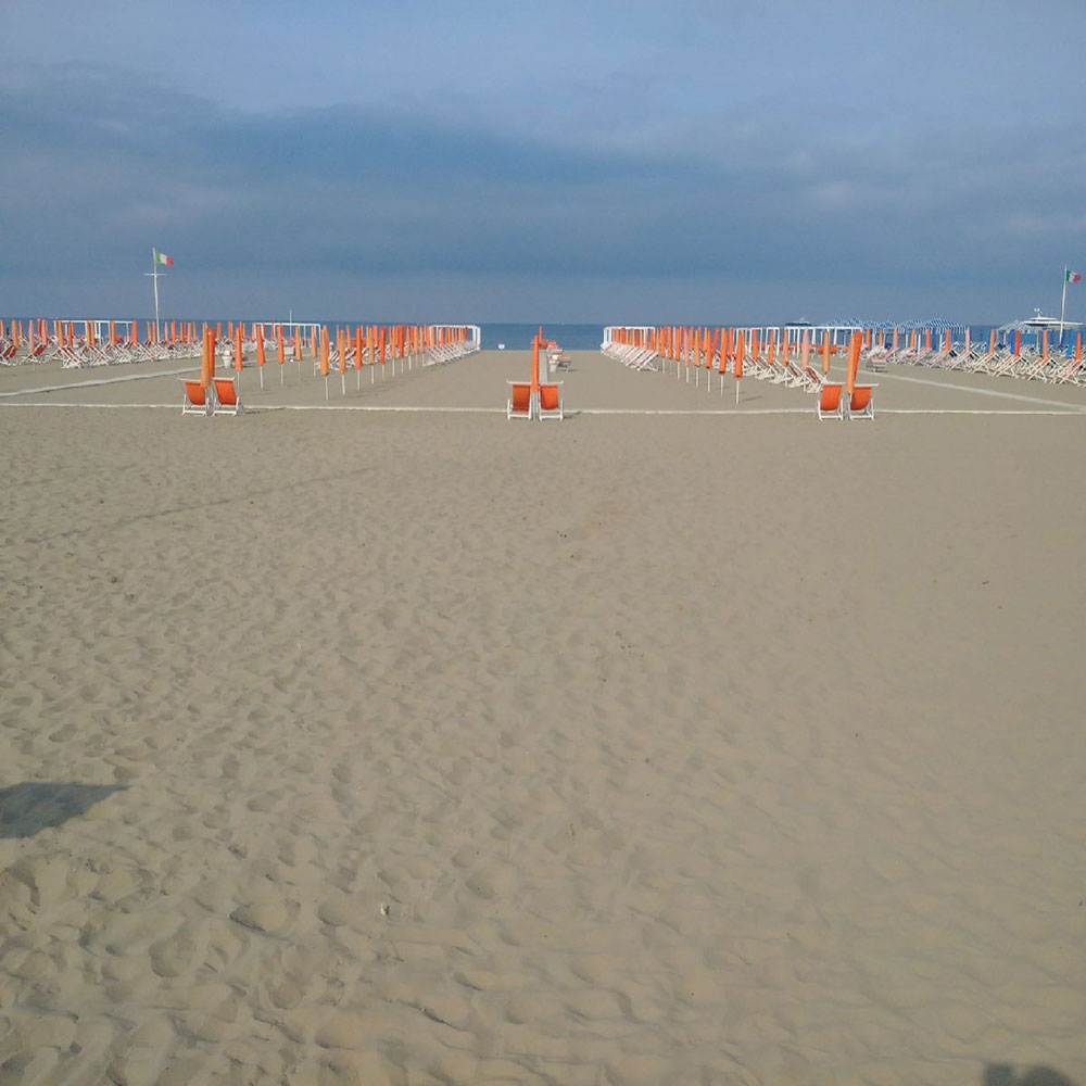 It was quite a wrench to leave Viareggio on such a perfect day