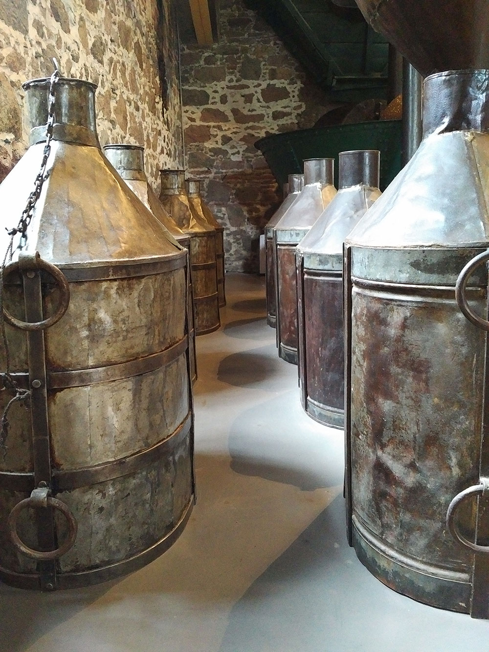 Olive oil storage