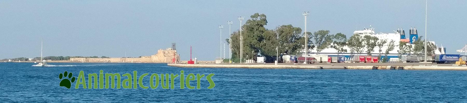 Naxos ferry terminal