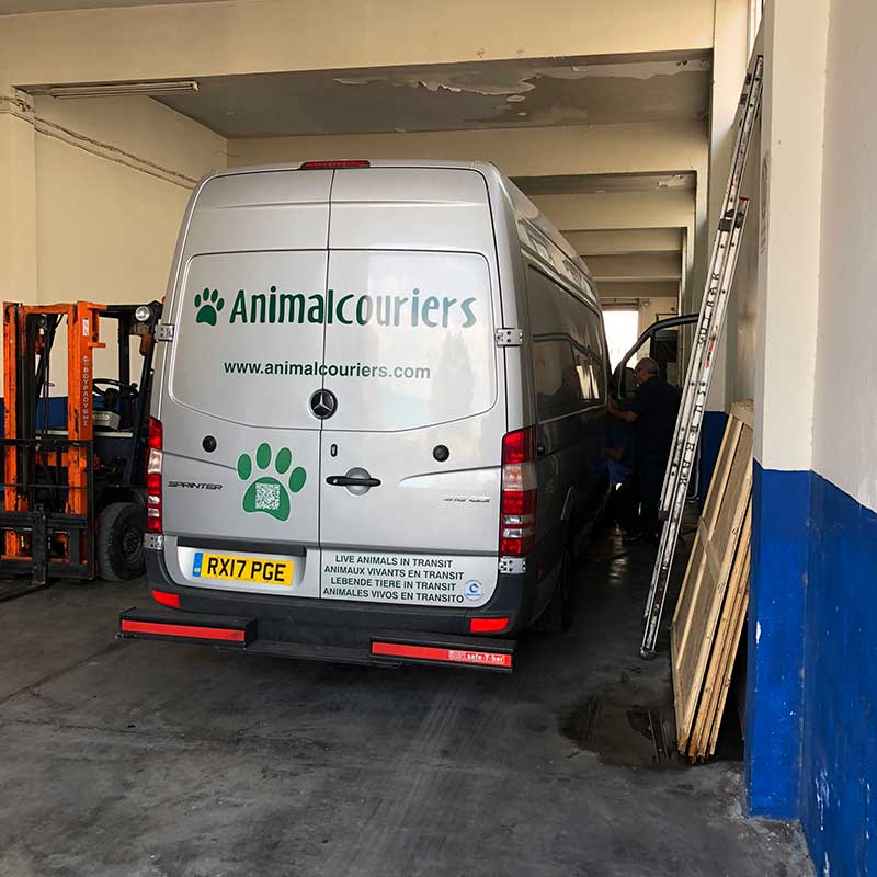 As we drove out of the port, we noticed our air conditioning wasn't quite up to par. So we took our van to a specialist in Athens to sort it out.