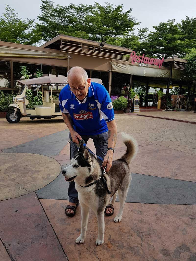 Jag in Thailand