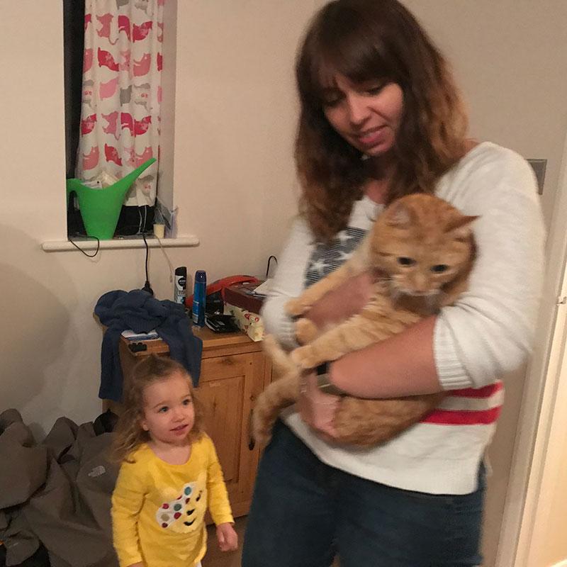 Anna welcomes Alf home