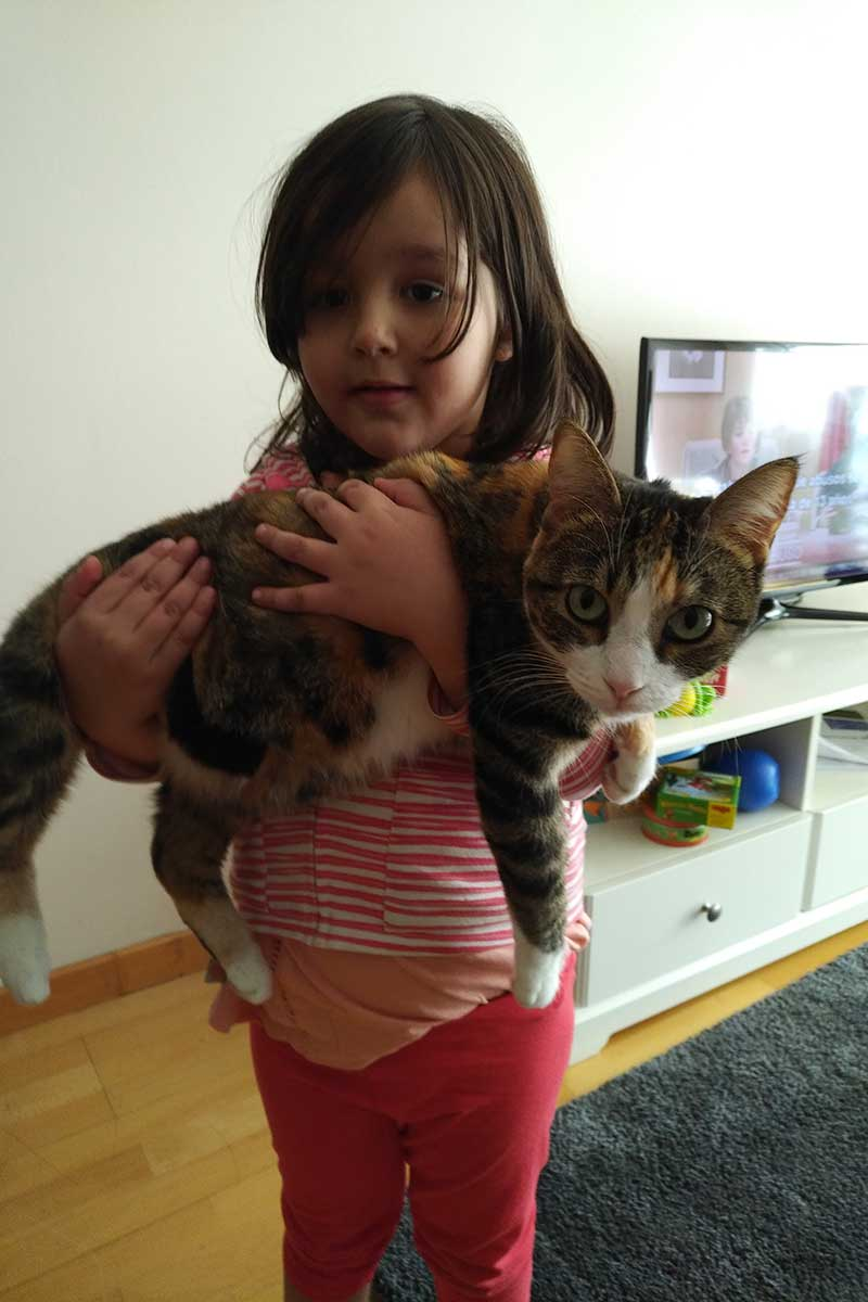 Goodbye hugs for Sarabi