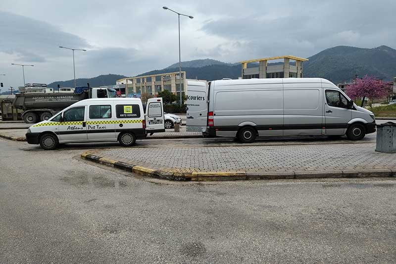 Transfer at Igoumenitsa