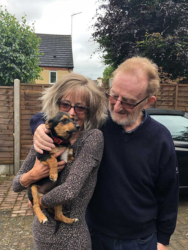 The start of a happy new life for Millie in Worcestershire
