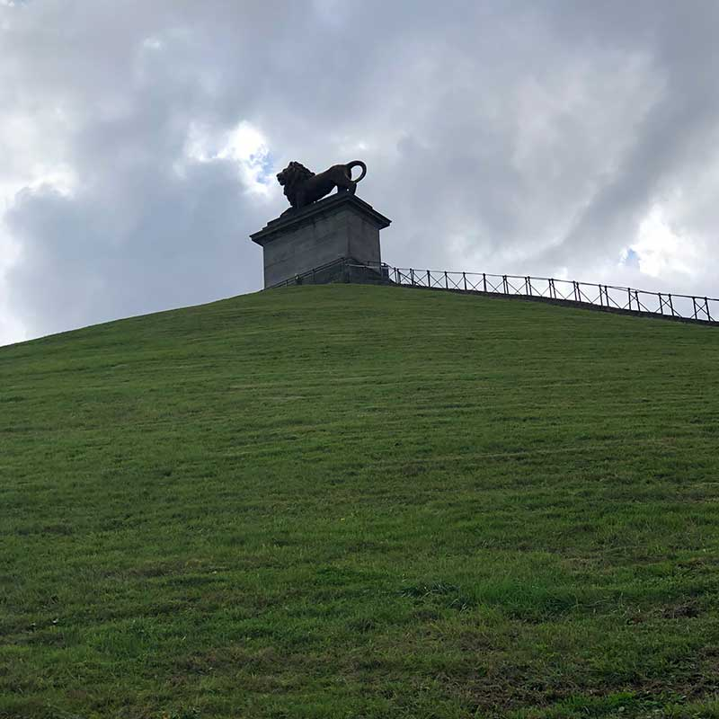 A memorial to all who fought at Waterloo