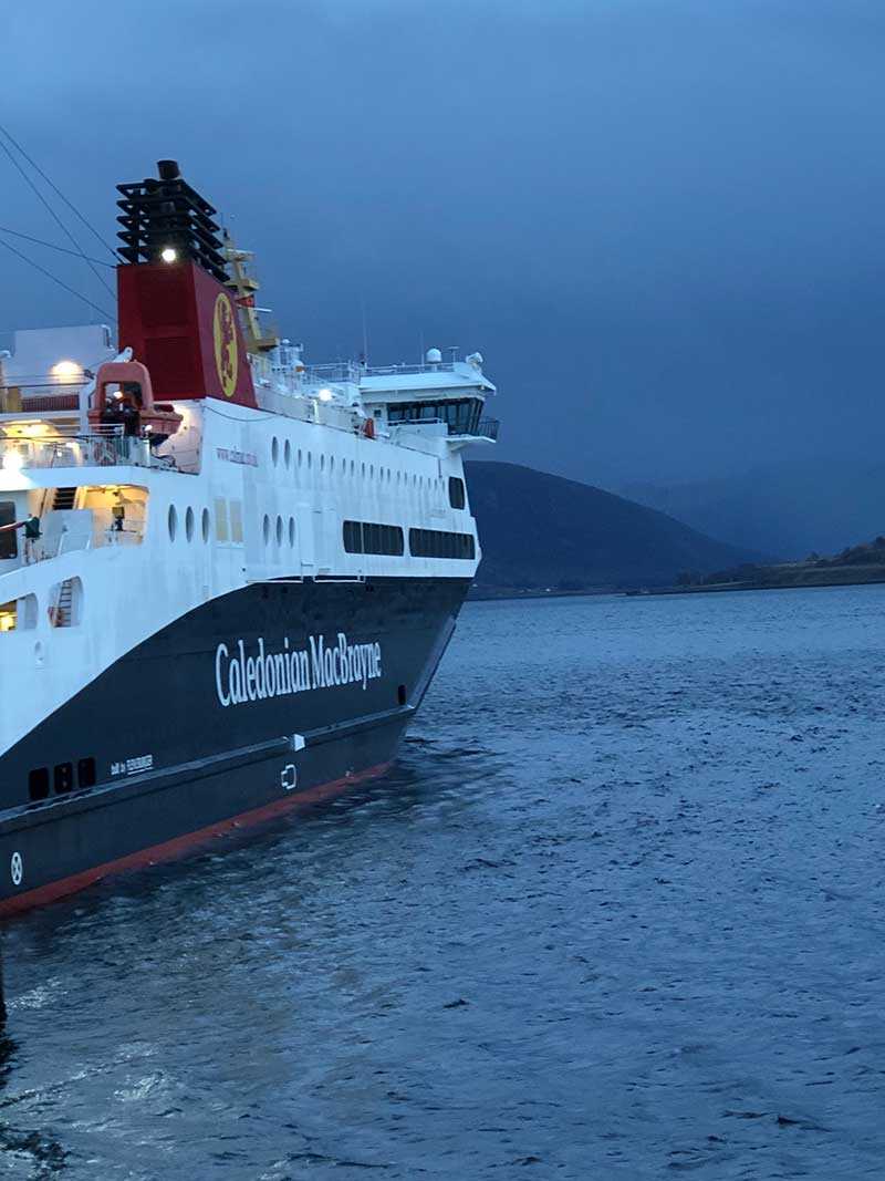 We caught the ferry from Ullapool to Stornoway on the Isle of Lewis