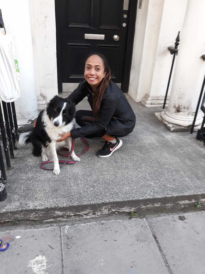 Trufa and Claudia pleased to back together again in London