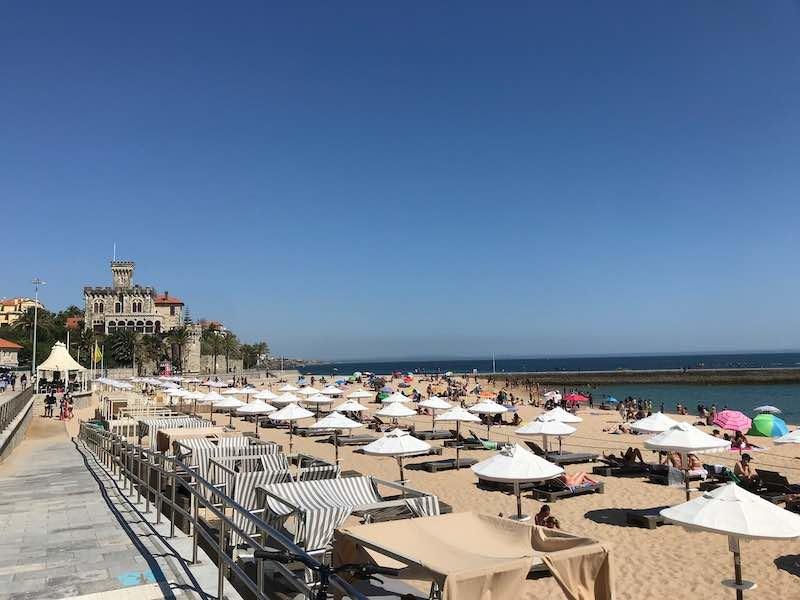 storil's beautiful beach