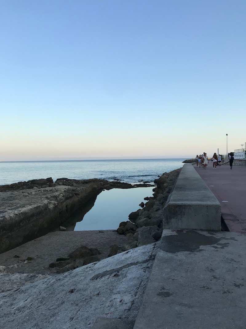 The beach at Oeiras