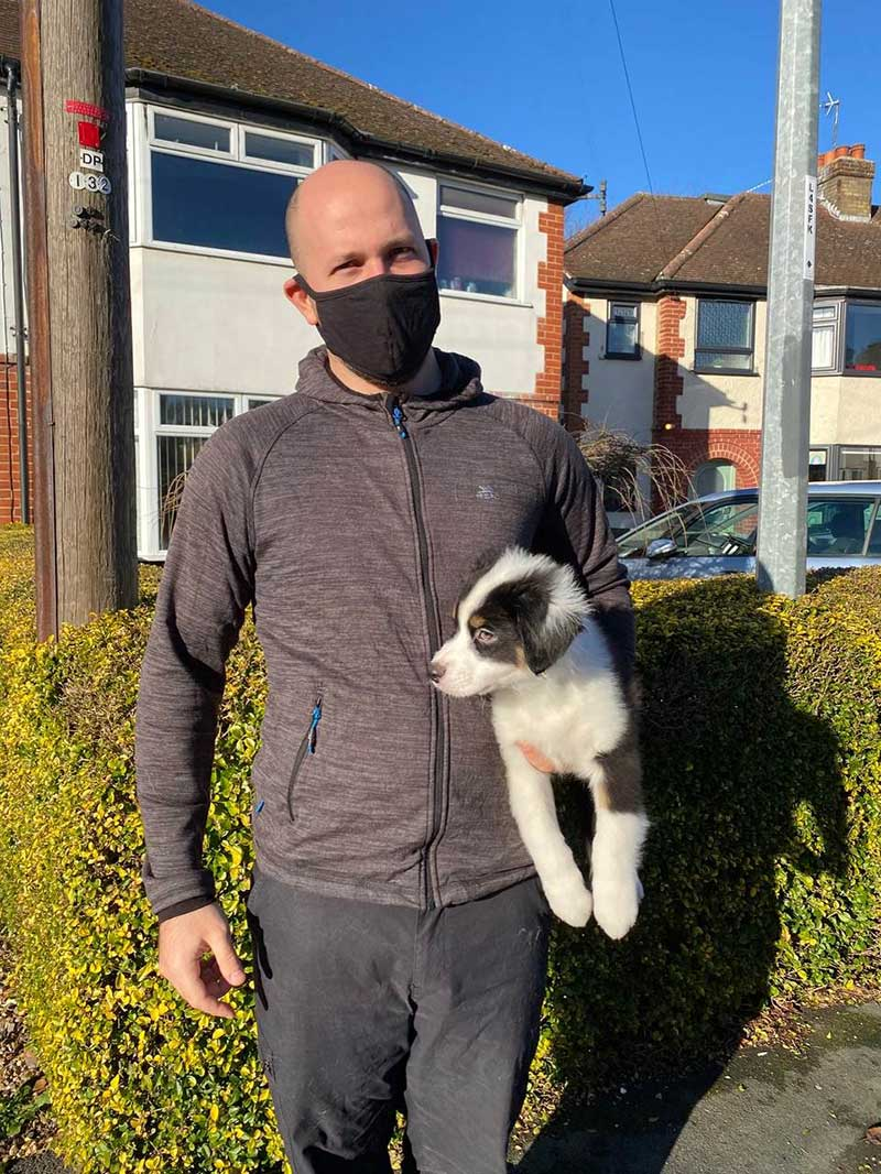 post-Brexit pet travellers: We collected Dash on a sunny winter's day