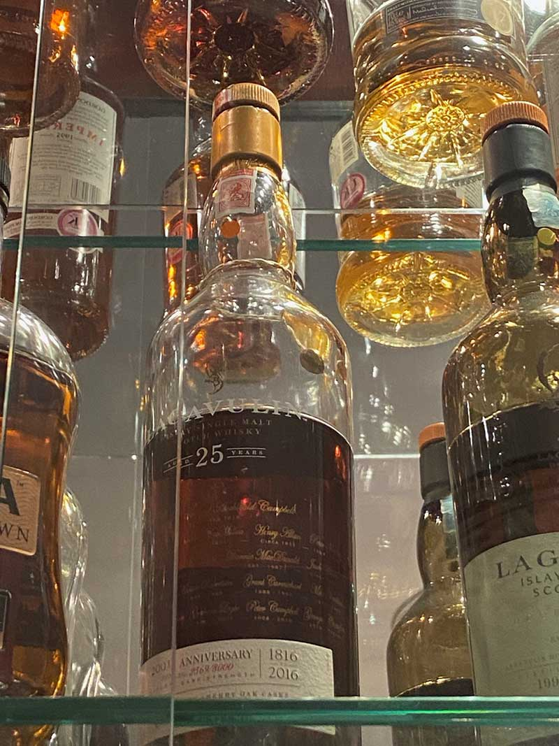 A closer look at a tiny selection of the whiskies on offer